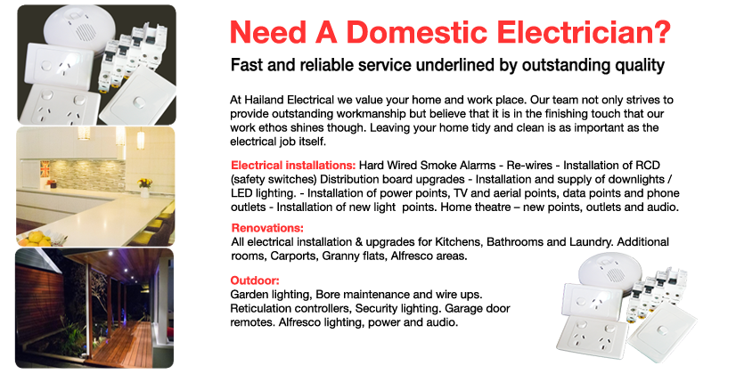 Domestic Electricians
